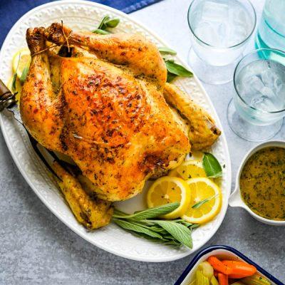 Kura na nedeľný obed či oslavu