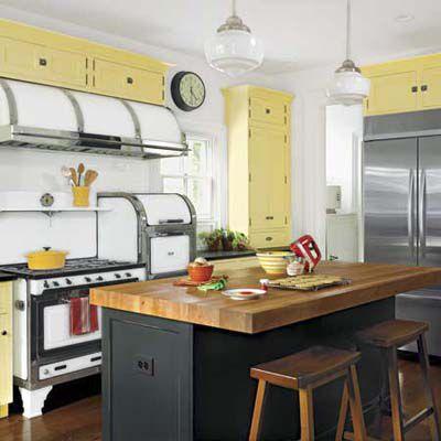 Vintage kuchyna a jej špecifikácie