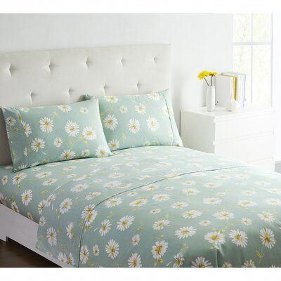 Obliečky na postel s kvietkami